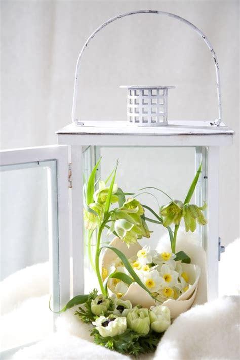 Dekorieren Frühling by Fr 252 Hlingsdeko Ideen Laterne Eierschalen Blumen Fr 252 Hling