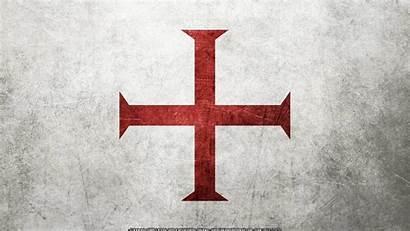 Templar Knight Knights Background 3d Desktop Flag