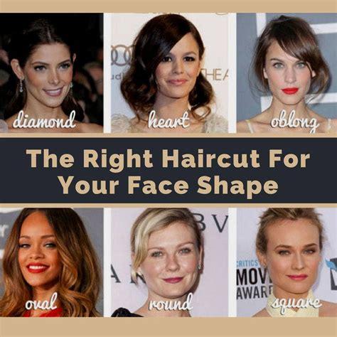 choose   haircut   face shape beauty tips