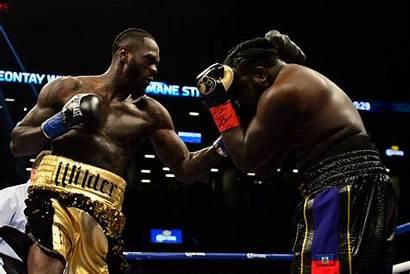 Wilder Stiverne Knockout Round Heavyweight Boxing Retains