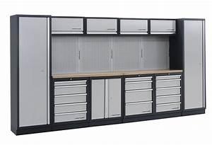 Meuble De Garage : meuble de rangement garage l gant armoire de rangement garage ~ Melissatoandfro.com Idées de Décoration