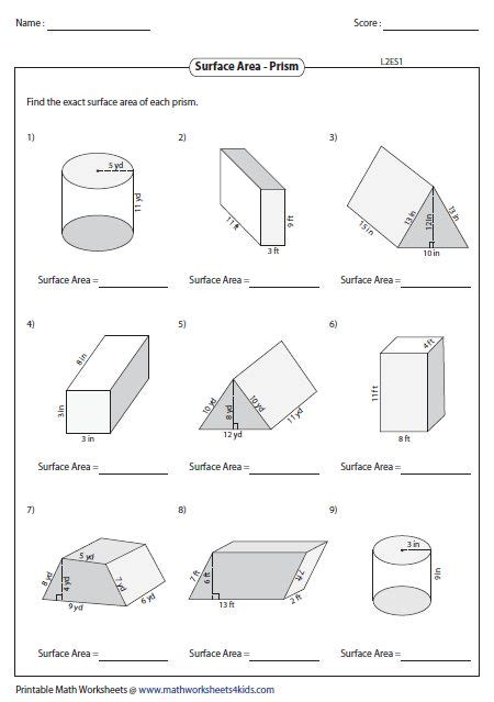 volume of composite figures worksheet 5th grade the best