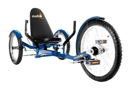 Mobo Triton Pro 3 Wheeled Trike Bike Recumbent