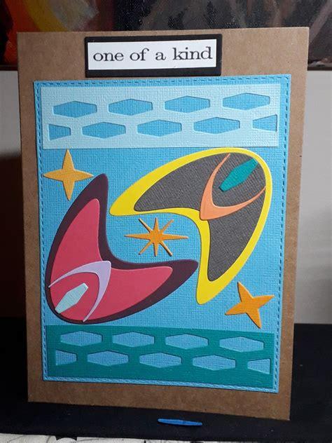card  tim holtz atomic elements  retro