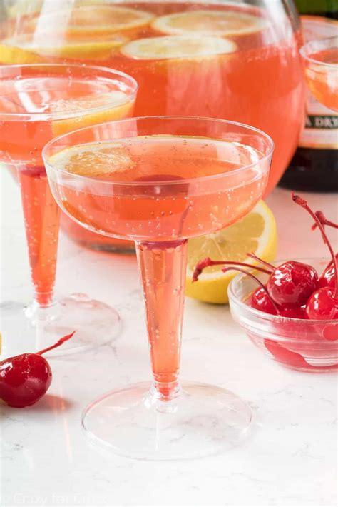 lemontini recipe pink lemontini chagne cocktail crazy for crust