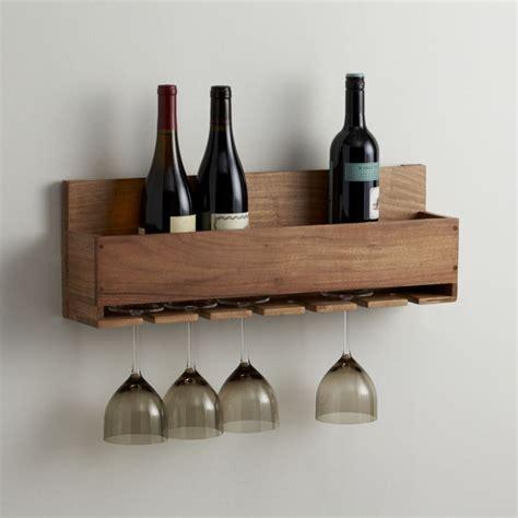 lowes bridal registry wine stem rack crate and barrel