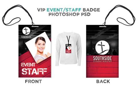 Staff Badge Template by Badge Psd Template Vip All Access Pass Digital316 Net
