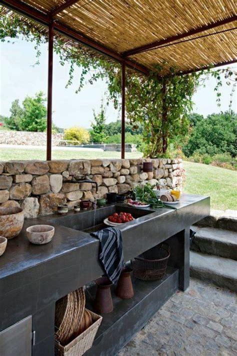 evier cuisine exterieure 1001 idées d 39 aménagement d 39 une cuisine d 39 été extérieure éviers extérieur éviers et cusine