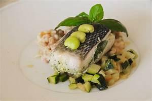 Assiette à Risotto : bar sauvage risotto de fregola sarda ~ Teatrodelosmanantiales.com Idées de Décoration