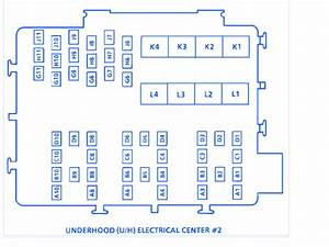 Buick Regal 1994 Underhood2 Fuse Box  Block Circuit Breaker Diagram  U00bb Carfusebox