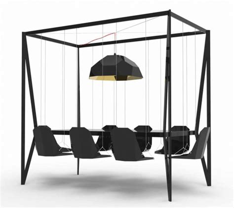 Swing Table by Go The Bar Dining Table With Swings For Chairs