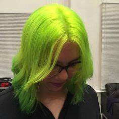 Obsessed with my new neon Pravana color