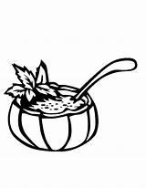 Soup Coloring Rice Bowl Drawing Getdrawings Popular sketch template