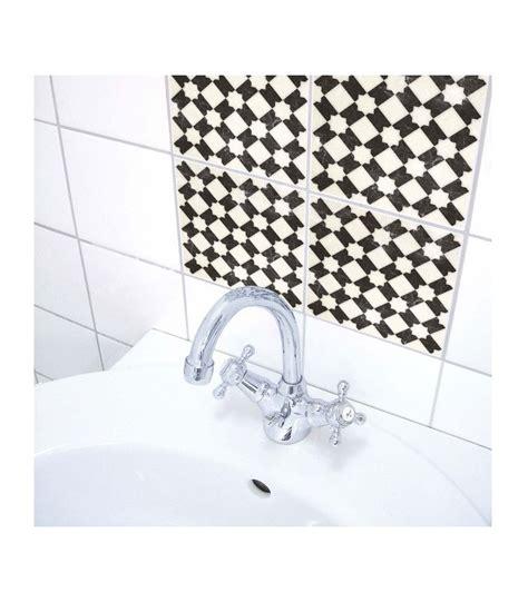 cuisine carrelage noir et blanc stickers pour carrelage de salle de bain ou cuisine