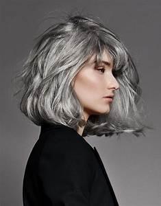 Coiffeuse Noir Et Blanche : cheveux mieux que le blond le gris madame figaro ~ Teatrodelosmanantiales.com Idées de Décoration
