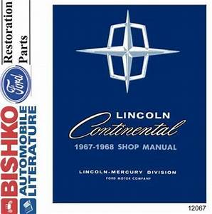 Lincoln Continental Repair Manual