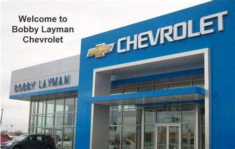 Bobby Layman Chevrolet  Columbus, Oh 43228 Car Dealership