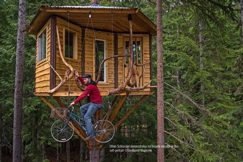 cheap home interiors ethan and his treehouse sandpoint magazine