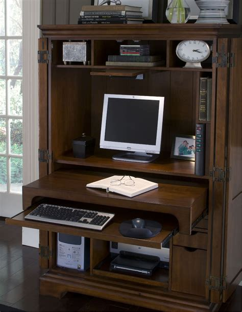 Office In An Armoire  Google Search  Ideas For My Home