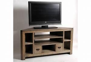 Meuble De Télé Conforama : meuble d angle pour tv ecran plat meuble tv porte coulissante maisonjoffrois ~ Teatrodelosmanantiales.com Idées de Décoration