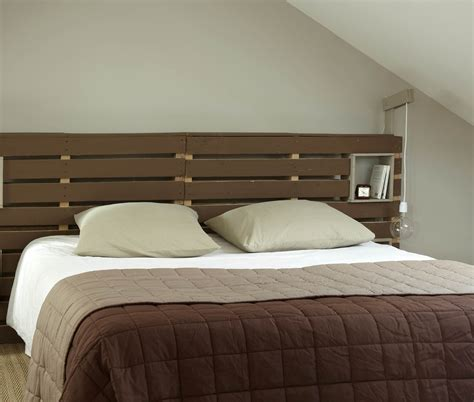 fabriquer tete de lit avec palette