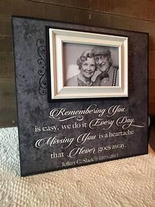in memory frame lost loved one photo memorial remembering