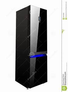 Refrigerateur 1 Porte Noir : r frig rateur noir brillant de porte deux en verre image ~ Dailycaller-alerts.com Idées de Décoration