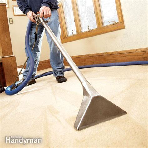 how to clean carpets how to clean carpet cleaning tips for long lasting carpet family handyman