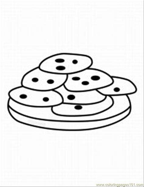 Free christmas cookie coloring pages