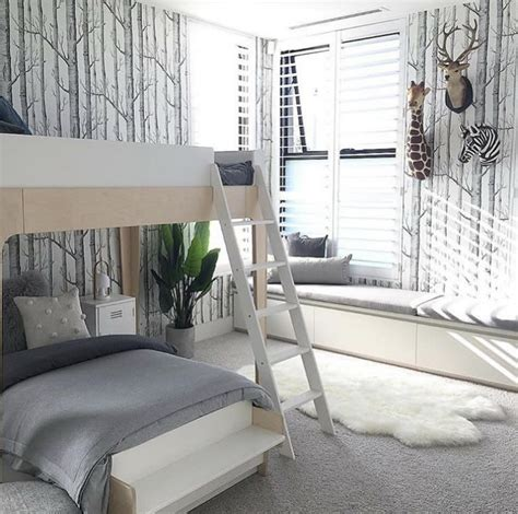 oeuf perch twin bunk bed white  birch diddle tinkers