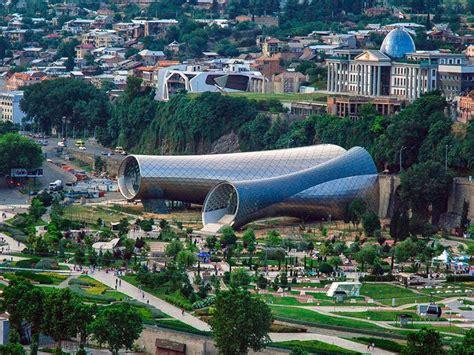 Top Unique Modern Buildings Georgia