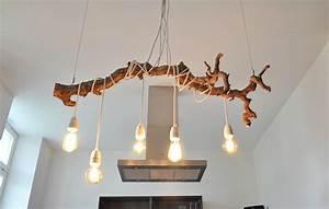 Lampen Aus Holz Selber Bauen : textilkabel lampe ast lampen pinterest textilkabel lampe textilkabel und ast ~ Frokenaadalensverden.com Haus und Dekorationen