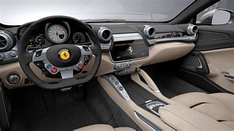 Ferrari gtc4 lusso t 2018 review. Ferrari GTC4 Lusso interior - dashboard   Ferrari