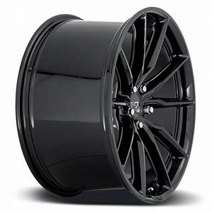 20 U0026quot  Staggered Niche Wheels M240 Rainier Gloss Black Rims