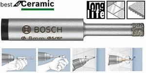Meche A Carrelage : foret diamant easydry bosch carrelage dur gr s c rame ~ Premium-room.com Idées de Décoration