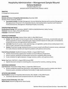 download hospitality resume templates for free formtemplate With hospitality resume template