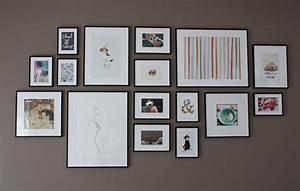 Mur De Photos : mon mur de cadres dans mon cocon ~ Melissatoandfro.com Idées de Décoration