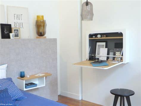 bureau mural design des petits bureaux pour un coin studieux joli place