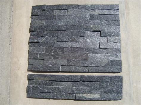 pietra nera della coltura della quarzite pietra naturale
