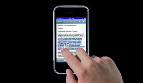 how to copy and paste on iphone iphone cut paste demo you