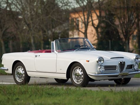1962 Alfa Romeo by Rm Sotheby S 1962 Alfa Romeo 2600 Spider By Touring
