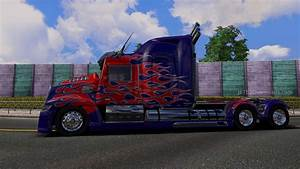 Optimus Prime Truck: Transformer 4 | ETS2 World