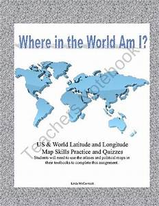 Where In The World And Usa Am I   Using Latitude And