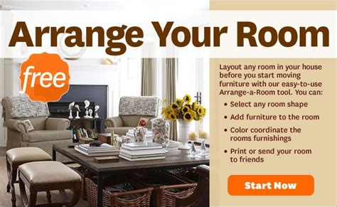 bhg arrange a room bhg room arranging tool for the home pinterest