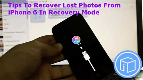 iphone 6 stuck in recovery mode tips to recover lost photos from iphone 6 in recovery mode