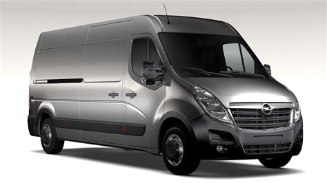 Opel Movano by Opel Movano L3h2 2016 3d Model Buy Opel Movano L3h2