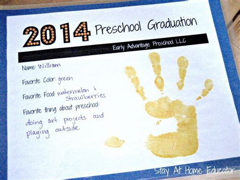 preschool graduation on the cheap ideas preschool 661 | 684b4e8b0674590afc0187629a26c284