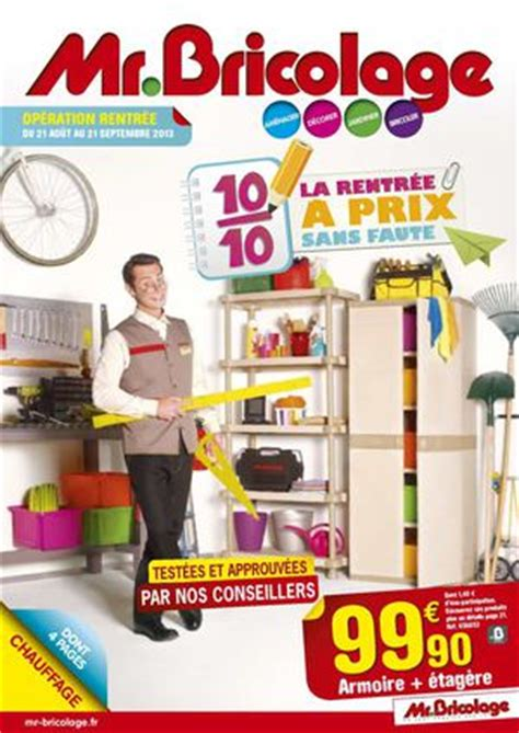 mr bricolage pontarlier catalogue calam 233 o mr bricolage catalogue rentr 233 e 24 pages