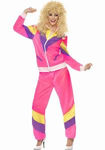 80s Height of Fashion Ladies Shell Suit Costume Escapade® UK