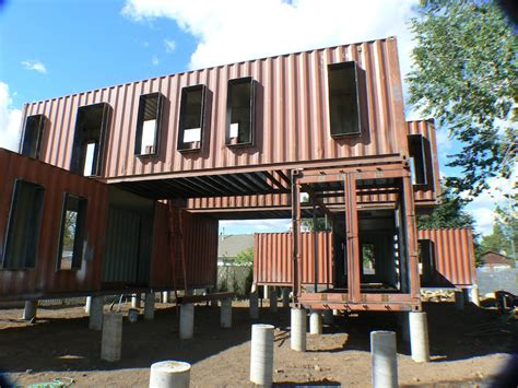 Shipping Container Homes by 10 Exles Of Large Shipping Container Homes Container
